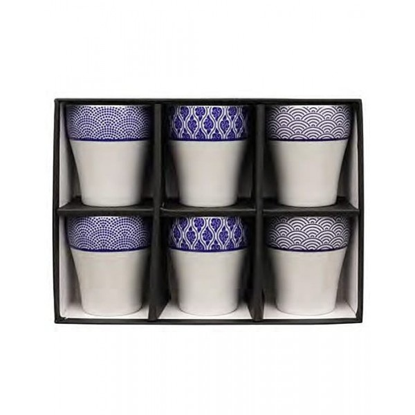 Set de vasos Mizuki Porcelana