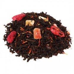 Té negro fresa frambuesa Bio
