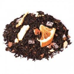 te negro naranja chocolate