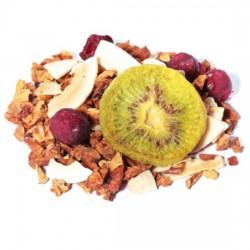Infusión de frutas kiwi cereza