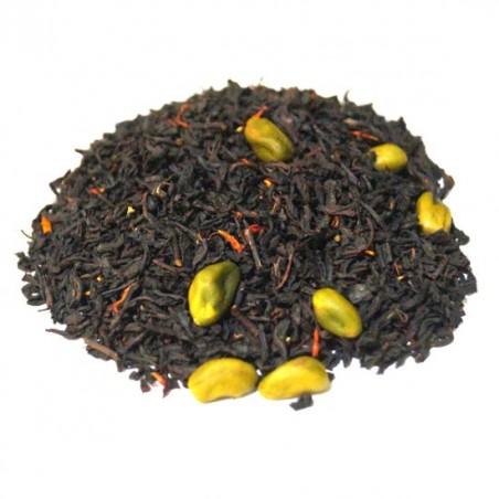 Té negro trufa pistacho