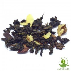 Té Oolong chocolate almendra nuez