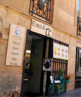 Tienda de té en Salamanca